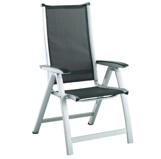 Садовая и дачная Алюминиевая мебель Kettler Кеттлер Кресло складное Forma Kettler КЕТТЛЕР 01270-000 СпортДоставка