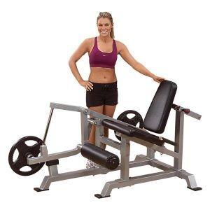 Body Solid свободные веса Профессиональный тренажер    Body Solid Боди Солид LVLE Тренажёр для разгибания ног сидя. СпортДоставка