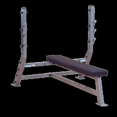 Body Solid свободные веса Профессиональный тренажер    Body Solid Боди Солид SFB-349G Профессиональная скамья для жима горизонтальная. СпортДоставка