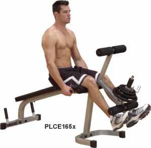 Body Solid свободные веса Профессиональный тренажер    Body Solid Боди Солид PLCE-165 Сгибание и разгибание ног. СпортДоставка