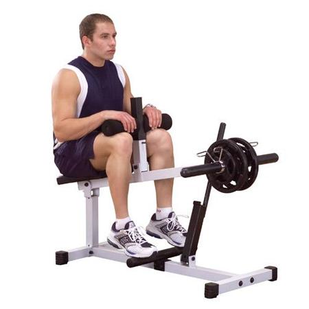 Body Solid свободные веса Профессиональный тренажер    Body Solid Боди Солид  PSC-43W Голень сидя. СпортДоставка