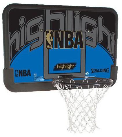 2ae89c50 Баскетбольный щит Spalding NBA Highlight 44 Composite 80453CN