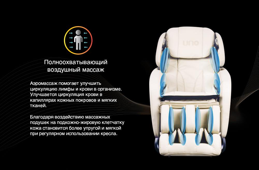Массажное кресло UNO GRANDE UN624